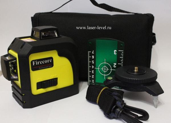 Firecore 3D Green комплект поставки