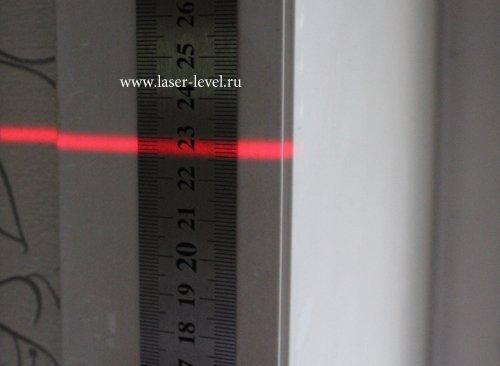 Толщина линии на 12 метрах