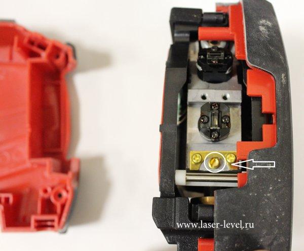 как разобрать и настроить лазерный уровень ada armo 3d