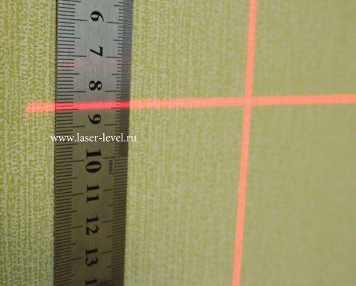 Толщина линии на 5 метрах